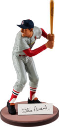 Baseball Collectibles:Others, 1992 Stan Musial Personal Gartlan Statue From Personal CollectionArtist's Proof....