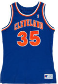 Basketball Collectibles:Uniforms, Danny Ferry Cleveland Cavaliers Authentic Jersey....
