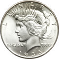 Peace Dollars, 1935 $1 MS66+ PCGS....
