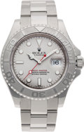 Timepieces:Wristwatch, No Shipping into the U.S. - Rolex Ref. 16622 Gent's SteelYacht-Master Wristwatch, circa 1999. ...
