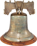 LIBERTY BELL REPLICA PRESENTED TO COLONEL SANDERS Supporting KFC's Recipe for Hope program and benefiting Feeding