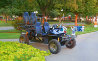CUSTOM ALL-TERRAIN HUNTING BUGGY John Lannom, Lannom Industries, Fort Stockton, Texas, 2013   Bid in the