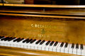 Decorative Arts, Continental:Other , BECHSTEIN GRAND PIANO. Carl Bechstein, Berlin, Germany, 1873.Serial Number 7213. 82 x 56 x 36 inches (208.3 x 142.2 x 91.4 ...