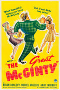 "Movie Posters:Comedy, The Great McGinty (Paramount, 1940). One Sheet (27.5"" X 40.5"")Style B.. ..."