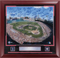 Autographs:Photos, 2000's Boston Red Sox Greats Multi-Signed Large Photograph....