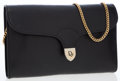 Luxury Accessories:Bags, Christian Dior Black Leather Clutch Bag with Chain Strap. ...