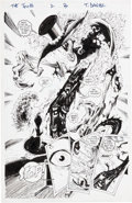 Original Comic Art:Splash Pages, Tony Daniel The Tenth #2 Page 3 Original Art (Image,1997)....