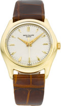 Timepieces:Wristwatch, Patek Philippe Ref. 2533 Fine Gold Center Second Wristwatch, circa 1950's. ...
