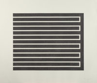 DONALD JUDD (American, 1928-1994) Untitled (set of 4), 1980 Aquatints on wove paper 19-5/8 x 24-3