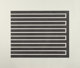 DONALD JUDD (American, 1928-1994) Untitled (set of 4), 1980 Aquatints on wove paper 19-5/8 x 24-3/4 inches (49.9 x 62...