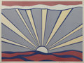 Prints:Contemporary, ROY LICHTENSTEIN (American, 1923-1997). Sunrise, 1965.Offset lithograph in colors. 17-1/4 x 23-1/8 inches (43.8 x 58.7...