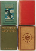 Books:Science Fiction & Fantasy, H. G. Wells. Group of Four Books, Two First Editions. Includes: When the Sleeper Wakes [first American], Twelve Storie... (Total: 4 Items)