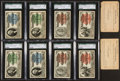 Non-Sport Cards:Sets, 1893 World's Fair Tickets Near Sets Pair (2) With OriginalEnvelopes. ...