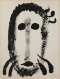 Prints:European Modern, JOAN MIRÓ (Spanish, 1893-1983). Album 19 series, plate 1,1961. Lithograph in colors. 25-7/8 x 19-3/4 inches (65.7 x 50....