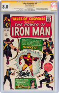 Silver Age (1956-1969):Superhero, Tales of Suspense #57 Signature Series (Marvel, 1964) CGC VF 8.0 Off-white to white pages....