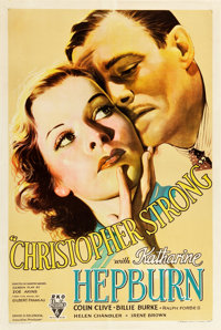 """Christopher Strong (RKO, 1933). One Sheet (27"""" X 41"""")"""