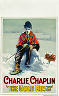"Movie Posters:Comedy, The Gold Rush (United Artists, 1925). Window Card (13.5"" X 22"")....."