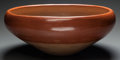 American Indian Art:Pottery, A SAN JUAN REDWARE BOWL. c. 1940...