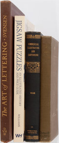 Books:Art & Architecture, [Illustration]. Group of Four Related Books. Various publishers and editions. Publisher's bindings, one in wrappers. General... (Total: 4 Items)