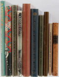 Books:Americana & American History, [Americana]. Group of Ten Related Books. Various publishers andeditions. Publisher's bindings with three in djs. Good or be...(Total: 10 Items)
