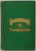 Books:Americana & American History, [Texas]. James L. Rock and W. I. Smith. Southern and WesternTexas Guide for 1878. Granger, 1878. First edition, fir...