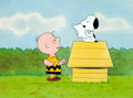 Animation Art:Production Cel, Charlie Brown and Snoopy Show Charlie and Snoopy Peanuts Production Cel Set-Up and Production Drawing Group (Bill Mele... (Total: 6 Items)
