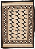 American Indian Art:Weavings, A NAVAJO REGIONAL RUG. c. 1945...