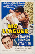 """Movie Posters:Sports, Big Leaguer (MGM, 1953). One Sheet (27"""" X 41""""). Sports.. ..."""