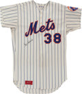 Baseball Collectibles:Uniforms, 1975 Skip Lockwood Game Worn New York Mets Jersey....