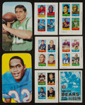 Football Cards:Sets, 1969 Topps Football 4 In 1 Cards/Albums and 1971 Topps Super Sets Pair (2). ...