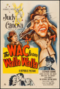 """Movie Posters:Comedy, The WAC from Walla Walla (Republic, 1952). One Sheet (27"""" X 41"""").Comedy.. ..."""