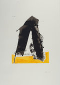 Prints:Contemporary, ROBERT MOTHERWELL (American, 1915-1991). Untitled (from BasqueSuite), 1971. Screenprint in colors. 22-1/2 x 17-1/4 inch...