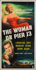 "Movie Posters:Film Noir, The Woman on Pier 13 (RKO, 1950). Three Sheet (41"" X 80""). Film Noir.. ..."