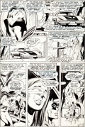 "Original Comic Art:Panel Pages, Neal Adams and Dick Giordano Detective Comics #407 ""Bride ofthe Man-Bat"" Page 5 Original Art (DC, 1971)...."