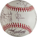 Autographs:Baseballs, 2004 St. Louis Cardinals Team Signed Baseball. (National LeagueChampions!)...