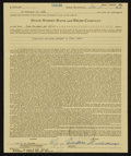Autographs:Letters, 1964 Ted Williams Signed Life Insurance Policy (Theodore Williams signature)....