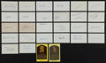 Autographs:Index Cards, Baseball Greats Signed Index Cards, And Postcards Lot Of 50+....