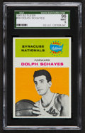 Basketball Cards:Singles (Pre-1970), 1961 Fleer Dolph Schayes #39 SGC 96 Mint 9 - Pop Two, None Higher!...