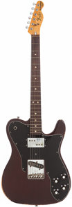 Musical Instruments:Electric Guitars, 1978 Fender Telecaster Custom Mocha Solid Body Electric Guitar,Serial # S813636....