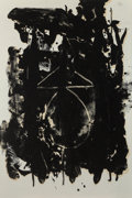 Prints:Contemporary, ROBERT MOTHERWELL (American, 1915-1991). El General, 1980.Lithograph in colors. 40-5/8 x 27-1/4 inches (103.2 x 69.2 cm...