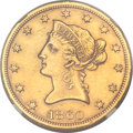 Liberty Eagles, 1860-S $10 -- Harshly Cleaned -- NGC Details. AU....