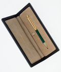 Timepieces:Other , Buccelati 18k Gold Ball Point Pen. ...