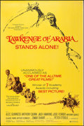 "Movie Posters:Academy Award Winners, Lawrence of Arabia (Columbia, R-1971). Poster (40"" X 60""). AcademyAward Winners.. ..."