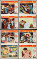 """Movie Posters:Adventure, The Prince Who Was a Thief (Universal International, 1951). LobbyCard Set of 8 (11"""" X 14""""). Adventure.. ... (Total: 8 Items)"""