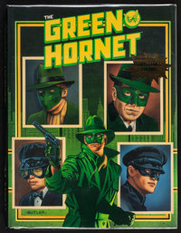 """The Green Hornet: Collector's Edition (Bonus Books, Inc.,1990). Autographed Hard Cover Book (Multiple Pages, 9"""" X 1..."""