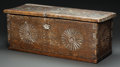 American Indian Art:Wood Sculpture, A NEW MEXICAN CARVED WOOD CHEST. c. 1800... (Total: 2 Items)