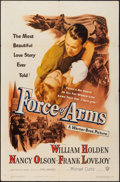 """Movie Posters:War, Force of Arms (Warner Brothers, 1951). One Sheet (27"""" X 41""""). War....."""