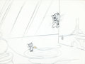 Animation Art:Production Drawing, Tom and Jerry Layout Production Drawing (MGM, c. 1950s)....