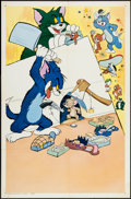 "Movie Posters:Animation, Tom and Jerry Stock (MGM, 1963). One Sheet (27"" X 41""). Animation....."
