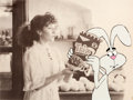"Animation Art:Production Cel, Trix Cereal ""Trix Rabbit"" Commercial Production Cel (General Mills, 1970s)...."